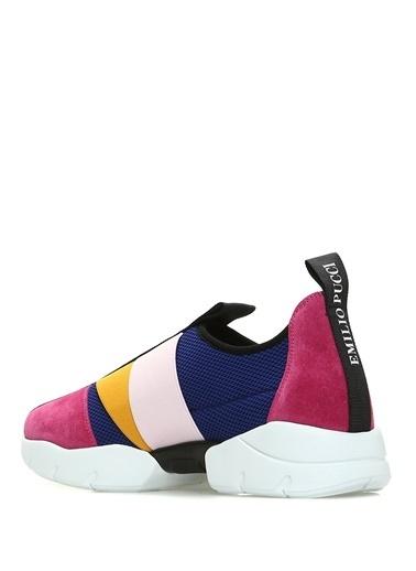 Emilio Pucci Sneakers Mavi